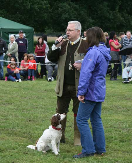 Compering and judging Hounds on The Hill Show
