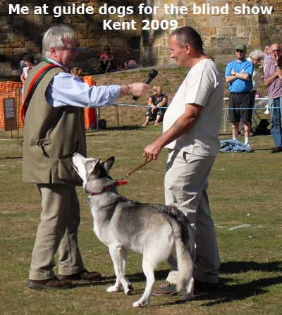 Stan Rawlinson Doing Guide Dogs For The Blind Show Kent