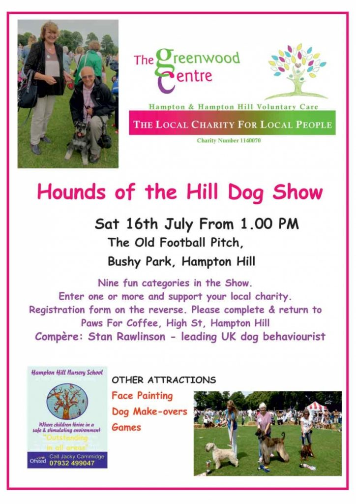 Hounds of the Hill Dog Show July 16th 2016
